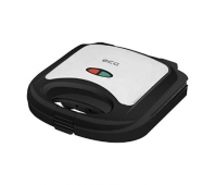ECG S 3172 Sandwich maker, 2 square toasts sandwiches, Non-stick coated baking plates