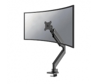 """Neomounts by Newstar Select NM-D775BLACKPLUS Full Motion Desk Mount (clamp & grommet) for 10-49"""" Curved Monitor Screens, Max. weight: 18 kg, height Adjustable (gas spring) - Black"""