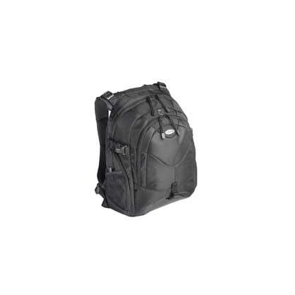 TARGUS Campus Notebook backpack black nylon for notebooks up to 15.4inch