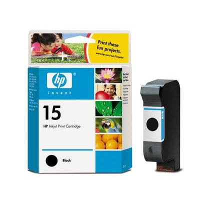 HP no.15 Ink Cart. Black (25ml, 495 pages)