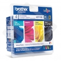Brother LC-1100 Multipack Ink Cartridge, Black, Cyan, Magenta, Yellow