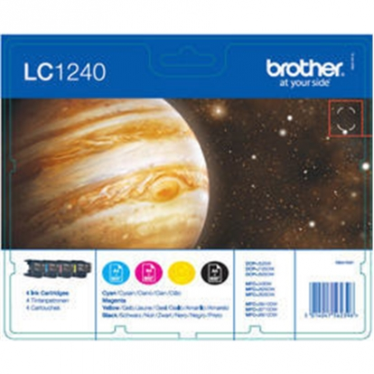 BROTHER VALUE PACK (LC-1240 BK/C/M/Y)