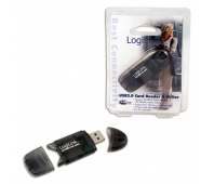 Logilink Cardreader USB 2.0 Stick external for MMC, RS-MMC, SD and SD HC