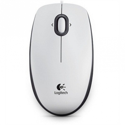 B100 Optical USB Mouse for Business, white