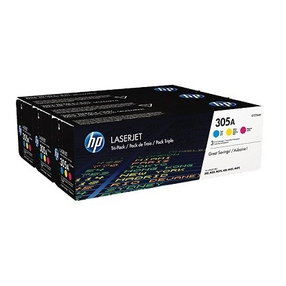 Toneris HP 305A Tri-pack CYM