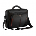 "Targus Classic Fits up to size 14 "", Black/Red, Messenger - Briefcase, Shoulder strap"