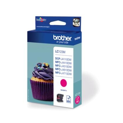 BROTHER LC123M ink magenta 600pages