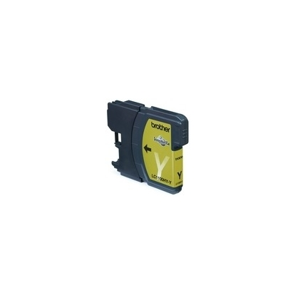 Rašalo kasetė Brother LC1100HYY yellow | 750psl | DCP395CN/DCP585CW/DCP6690CW