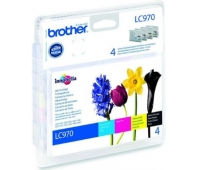 Rašalo kasetė Brother LC970 CMYK | DCP135/ DCP150/ MFC235/ MFC260