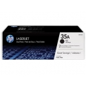 HP Toner Black 35A for LaserJet P1005/P1006,doublepack (2x1.500 pages)
