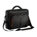 "Targus Classic+ Fits up to size 15.6 "", Black/Red, Shoulder strap, Messenger - Briefcase"