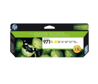 HP no.971XL Yellow Ink Cart. for Officejet Pro X series (6.600pages)