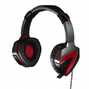 A4Tech Gaming Headset, Bloody G501 Combat Gaming Headset, compatible with PC and Tablets, iPad Black/ Red Aux connector, Built-in microphone