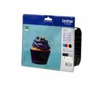Brother LC-123 Ink Cartridge, Black, Cyan, Magenta, Yellow