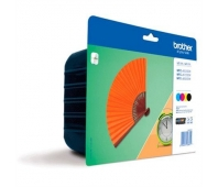 Brother LC129XLVALBPDR, Value High Yield Ink Cartridge pack - black, yellow, cyan, magenta