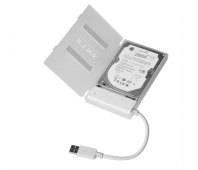ICYBOX IB-AC603a-U3 Adapter cable SATA to 1xUSB 3.0, white + white HDD case