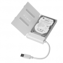 "Raidsonic ICY BOX Adapter cable with protective a cover for 2.5"" SATA hard disks to USB 3.0 USB 3.0, 2.5"", SATA"