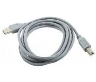 CABLE USB2 AM-BM 1.8M/GRAY CCP-USB2-AMBM-6G GEMBIRD