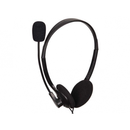 GEMBIRD MHS-123 Gembird microphone & stereo headphones MHS-123 with volume control, black color