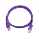 Cablexpert RJ45/RJ45 Cat5e 0.25m 0.25 m, Purple