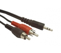 GEMBIRD CCA-458-2.5M Gembird audio cable JACK 3,5mm M / 2x RCA (CINCH) M 2.5M