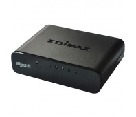Edimax 5x 10/100/1000Mbps Switch, opt. power supply via USB cable (incl.)