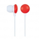 Gembird MHP-EP-001-R 'Candy' In-ear earphones Red