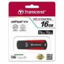 TRANSCEND 16GB JETFLASH 810 SuperSpeed USB 3,0 Read: Up to 75 MB/s Write: Up to 12 MB/s sporty rubberized design