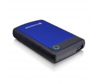 External HDD|TRANSCEND|StoreJet|1TB|USB 3.0|Colour Blue|TS1TSJ25H3B