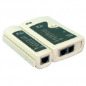 LOGILINK WZ0010 LOGILINK - Cable Tester for RJ11 connectors, RJ12 and RJ45 with remote unit