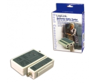 LOGILINK WZ0011 LOGILINK - Cable tester for RJ45 and BNC with remote unit