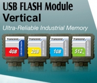 MEMORY DRIVE FLASH USB2 2GB/TS2GUFM-V TRANSCEND