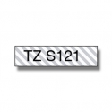 BROTHER TZES121 9 BLACK ON CLEAR STR. AD