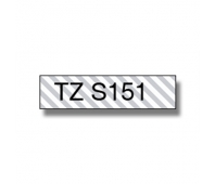BROTHER TZES151 24 BLACK ON CLEAR STR. A