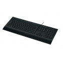 LOGITECH Corded Keyboard K280e Russian layout (RU)