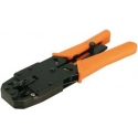 Logilink Crimping tool universal with cutter and isolater metal