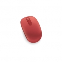 Microsoft U7Z-00034 Wireless Mobile Mouse 1850 Red
