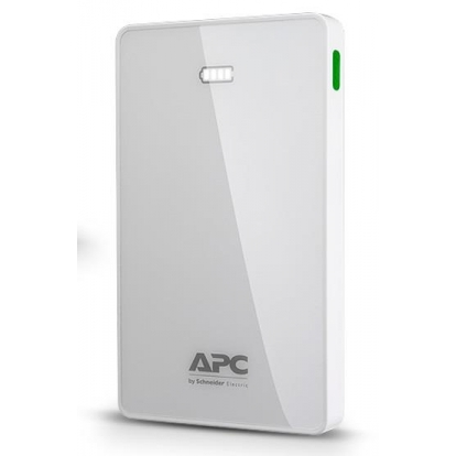 APC Mobile Power Bank, 10000mAh Li-polymer (for smatphones, tablets) White