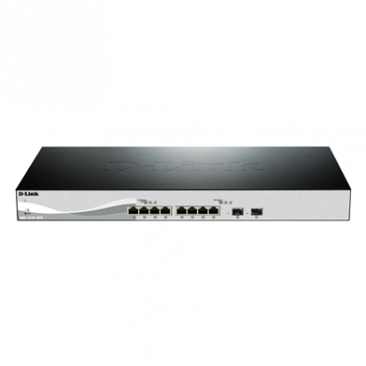 D-LINK 10 Port switch including 8x10G ports & 2xSFP
