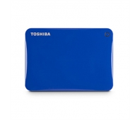 "Toshiba Canvio Connect II 1000 GB, 2.5 "", USB 3.0, Blue, 10 GB Cloud Storage (Pogoplug)"