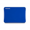 "Toshiba Canvio Connect II 500 GB, 2.5 "", USB 3.0, Blue, 10 GB Cloud Storage (Pogoplug)"