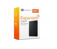 External HDD|SEAGATE|Expansion|500GB|USB 3.0|Colour Black|STEA500400
