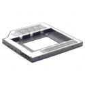 Gembird Slim Mounting frame for SATA 2,5'' drive to 5.25'' bay
