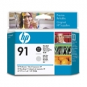 HP no.91 Printhead Photo Black and Light Grey