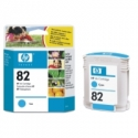 INK CARTRIDGE CYAN NO 82/C4911A HP
