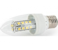 Whitenergy LED Candle C35 - 27x SMD 5050 - E27