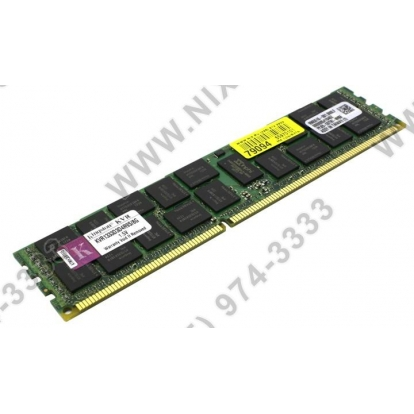 Kingston 8GB 240-Pin DDR3 SDRAM ECC Registered DDR3 1333 Server Memory Model KVR1333D3D4R9S/8G