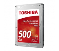 Toshiba P300 7200 RPM, 500 GB, 3.5 inch, HDD, 64 MB