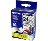 Lipni juostelė Brother 24mm Black ON CLEAR