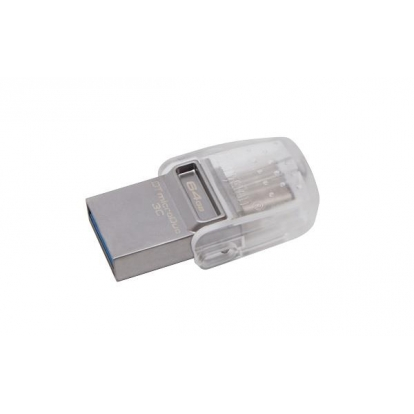 KINGSTON 64GB DT microDuo 3C USB3.0/3.1 + Type-C flash drive